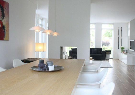 modernes herrliches haus design esszimmer hängen lampen