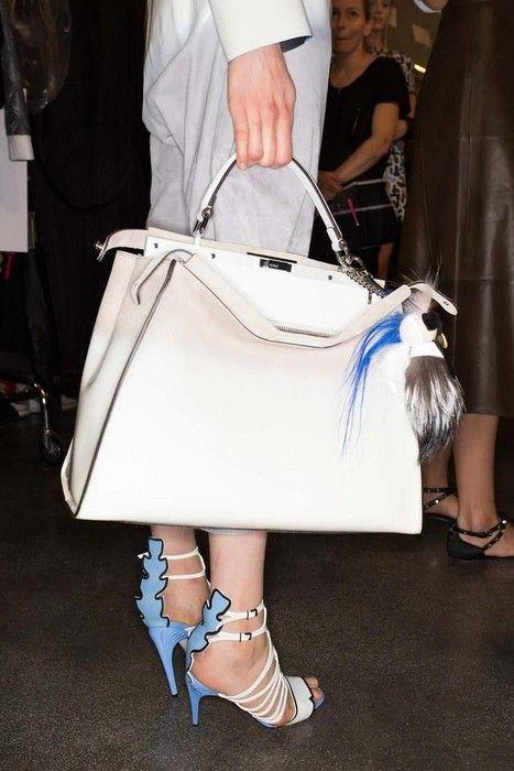 fendi designer bags z1t3  24 Looks with designer bags Glamsugarcom Fendi Spring 2015