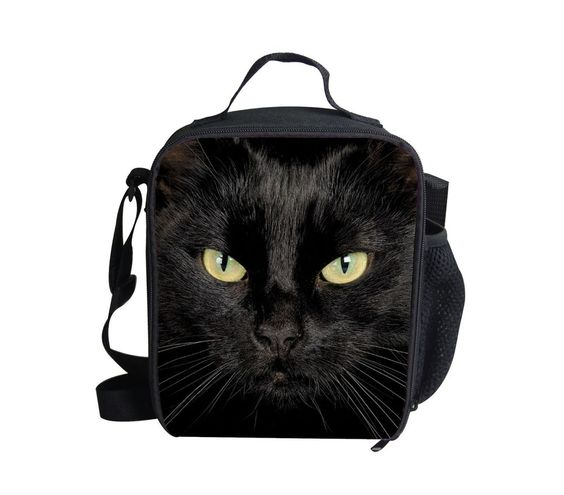 Whosepet Animal Cat Dog Teen's Insulated Lunch Tote Picnic Cool Bag with Zipper #BIGCAR
