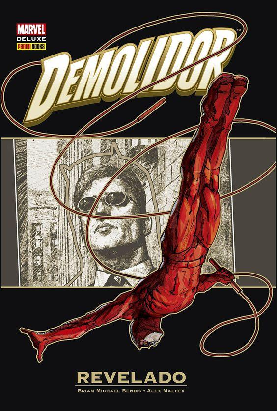Demolidor - Revelado - Marvel Deluxe - MonsterBrain