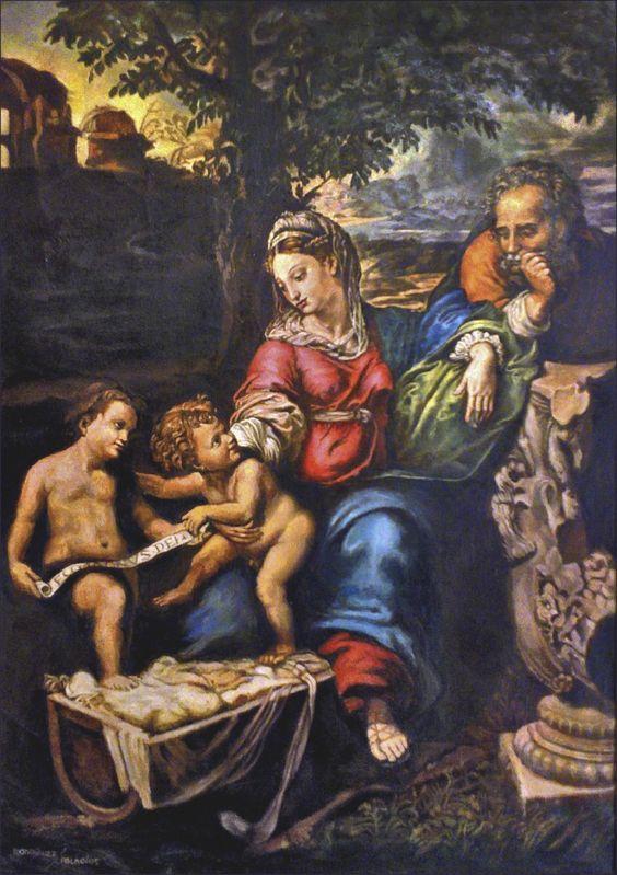 La Sagrada Familia del Roble 58X81 cmts.JPG