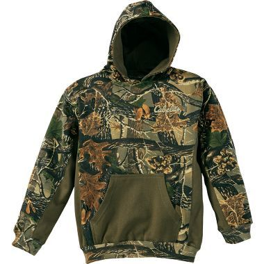 Cabela's Youth Camo Hoodie - Arctic Pool Blue (S) $29.99
