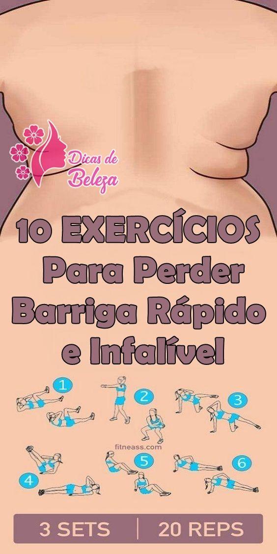 Os 5 Exercicios Simples Para Perder Barriga Rapido