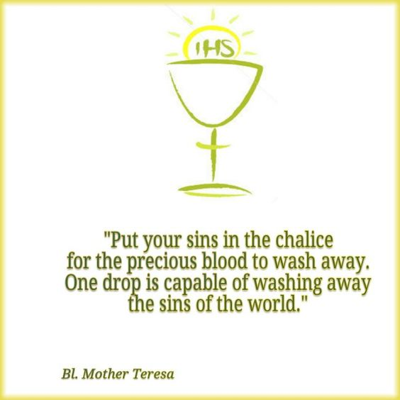 Blessed Mother Teresa On The #Eucharist