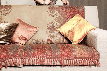 Tissus pour faire des rideaux, recouvrir vos canapés et sièges. Voilages, doubles-rideaux et tenture