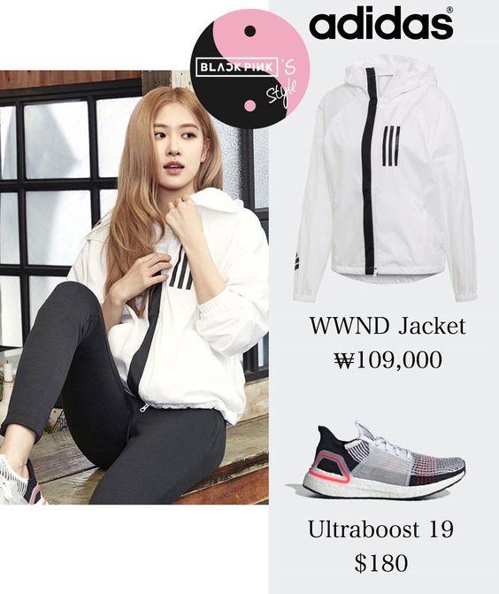 "@blackpinksstyle on Instagram: ""190128 - Rosé for Adidas Korea W.N.D Jacket"""