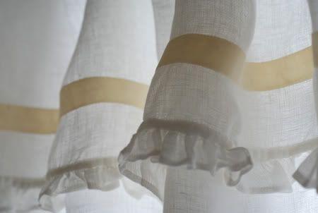 Belle linen curtain