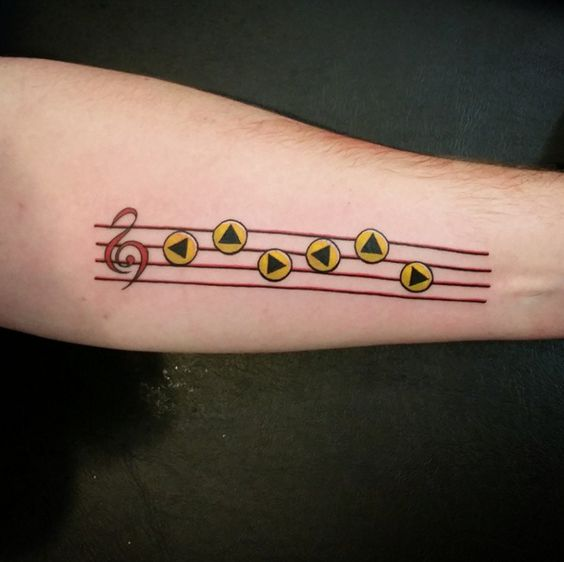 """This delightful piece of music: 