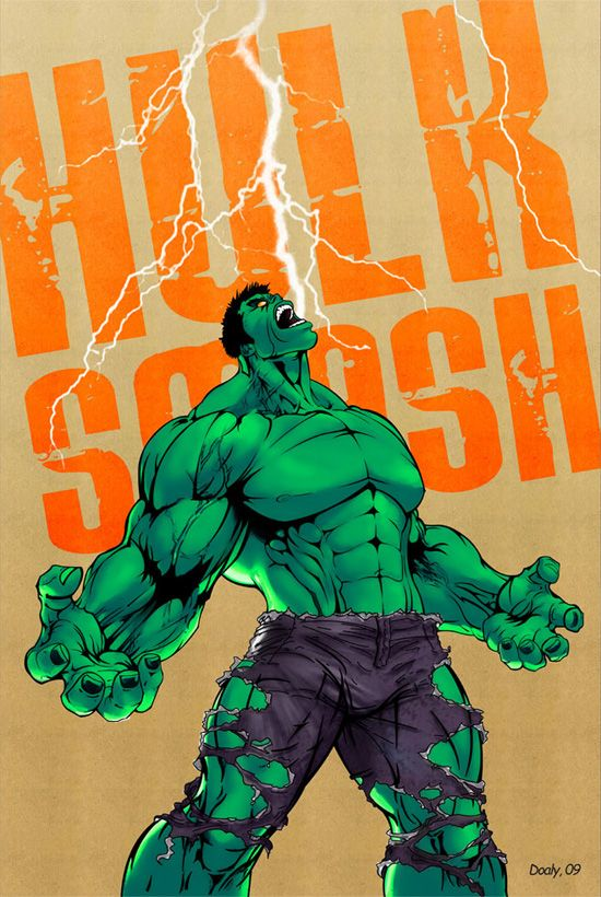 Client:doaly  Project:Hulk  Expertise:Pencil, Illustrator and Photoshop