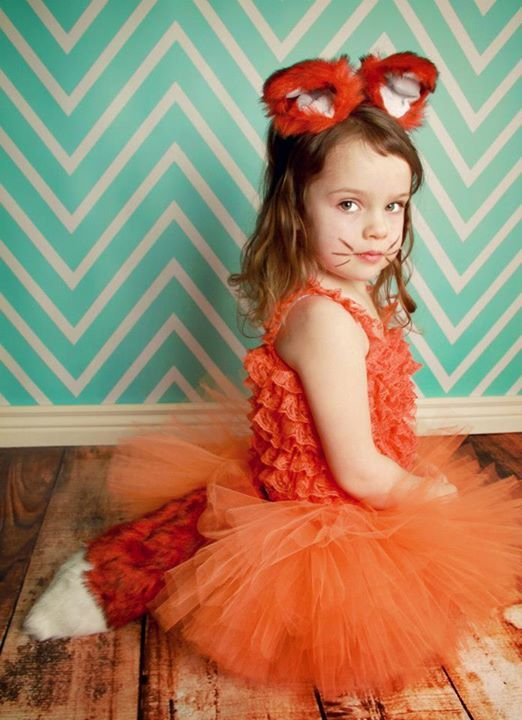 Orange Fox Tutu Costume http://www.punkbabyclothes.net/shop/product_info.php?cPath=23_153&products_id=11719 My Baby Rocks - photo by Andrea Thornton