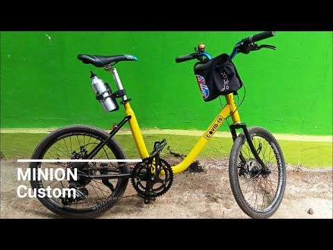 Modif Sepeda Minion Custom Rasa Mewah Cuma Habis Dana Segini Di 2020 Barang Minion Minion Sepeda