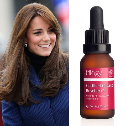 The Ultimate Guide To Kate Middleton S Favorite Products Kate Middleton Hair Organic Rosehip Oil Rosehip Oil Benefits