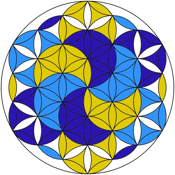 Sacred Geometry: How to Draw a Flower of Life with Only a Compass