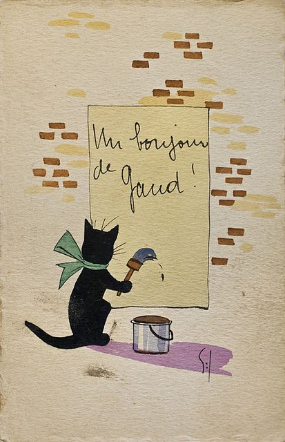 Un Bonjour de Gand! postkaart | Flickr - Photo Sharing!