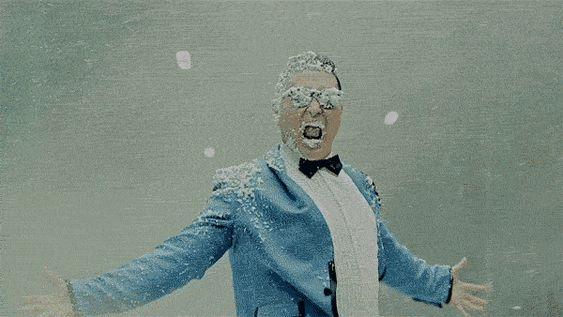 Snow man. #LuxuryLinkSnowBoard