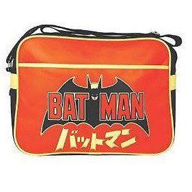 Batman Logo Japanese Retro Style Shoulder Bag
