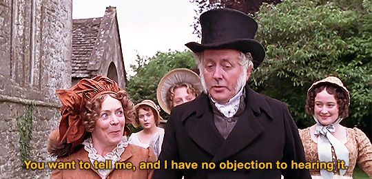 Pride \ Prejudice - Mrs Bennet is single-minded woman *Jane - i have no objection