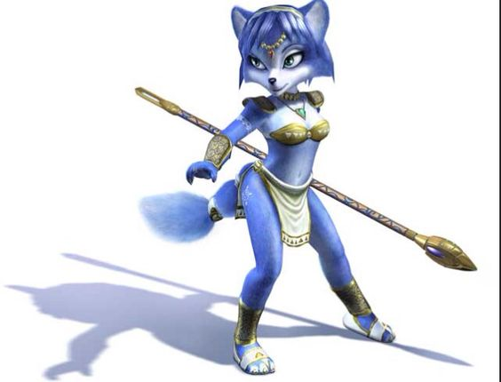 Krystal from Star Fox!