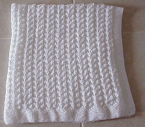 Lace Knit Baby Blanket pattern by Nancy Hearne Ravelry ...