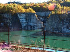 "Granite Quarry Barre Vermont Rock of Ages Graniteville USA. Visit <a href=""http://www.vtliving.com/"">Vermont Living</a> for more information and photographs."