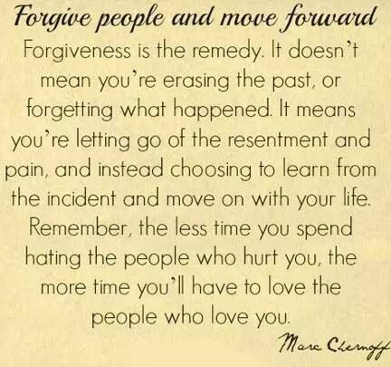 Thankful that God is teaching me how to Forgive!