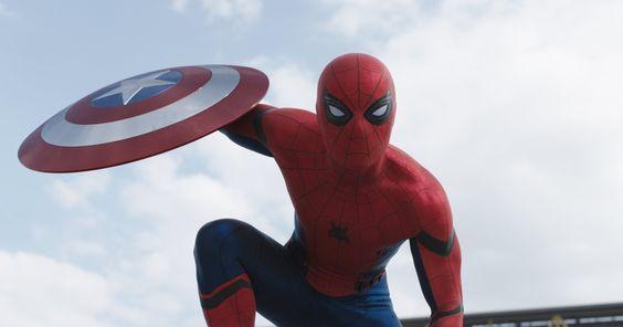 Spider-Man returns to the big screen in Captain America: Civil War