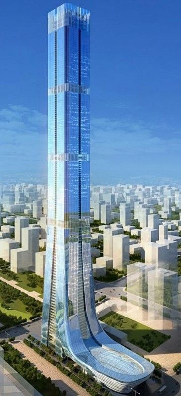 Evergrande Tower by Terry Farrell Technology Military