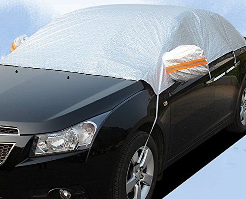 Winter Car Cover >> Safe View Half Size Car Cover Top Waterproof