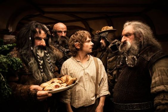 The Hobbit and the dwarves
