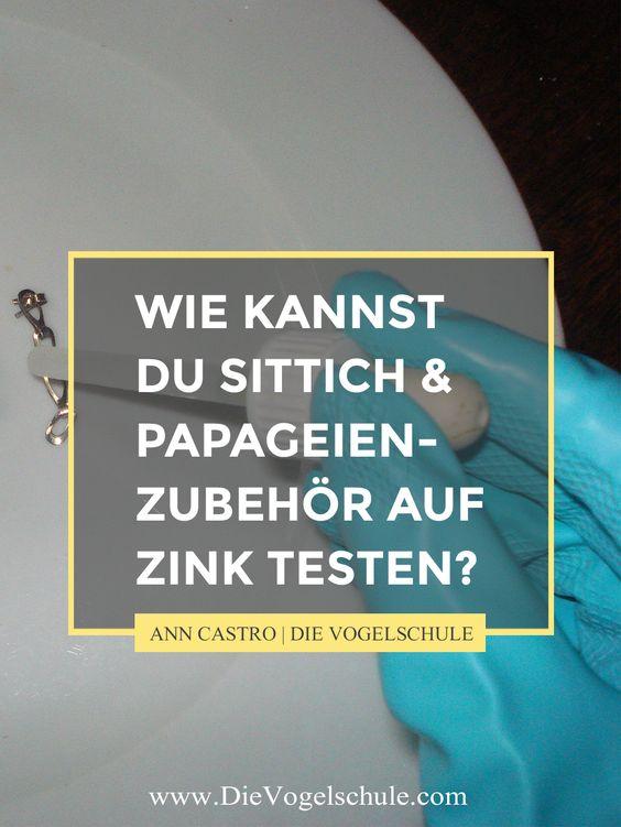 Klar willst Du Zink vermeiden. Du weißt ja wie tödlich giftig es für Deine Papageien & Sittiche sein kann. Aber wie findest Du heraus, welche Sittich- & Papageienkäfige, -spielzeuge und anderes Zubehör verzinkt sind?