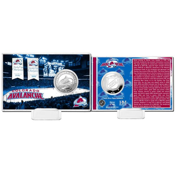 Colorado Avalanche Highland Mint History Coin Card - $15.99
