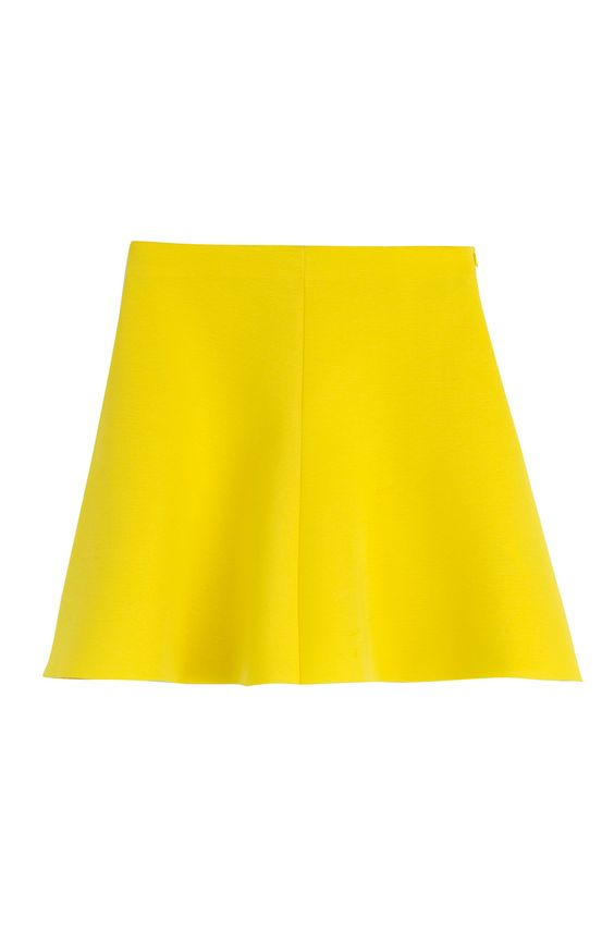 Ladylike yet modern, this RED Valentino neoprene-inspired flared skirt offers effortlessly cool styling options #Stylebop