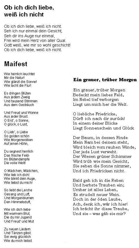 Maifest 1771 Van Dit Gedicht Is Geen Handschrift Bekend