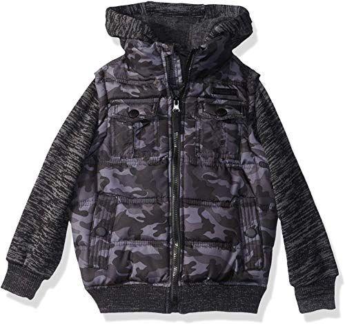 New English Laundry Boys Fashion Quilted Bomber Jacket Online