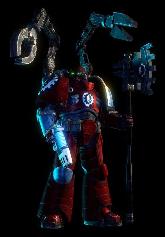 3d axe imperium joazzz2 plasma_pistol space_marines techmarine