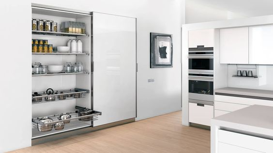 Puerta Corredera en Armario de Cocina: To Order, The Kitchen, Arq Deco, Cabinet, Cocina Distinto, Of The, Kitchen