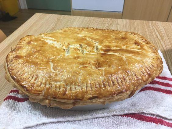 [Homemade] Chicken Bacon and Mushroom Pie http://ift.tt/2lNdOOA #TimBeta