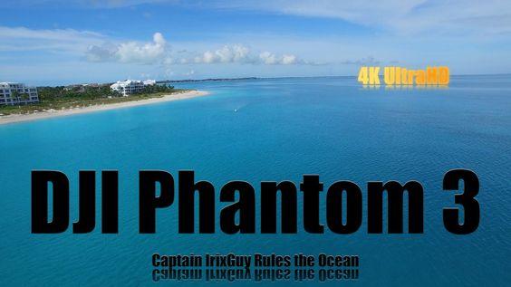DJI Phantom 3 Captain IrixGuy Rules the Ocean