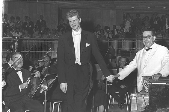 Lincoln will honor Van Cliburn with a performance on his birthday!