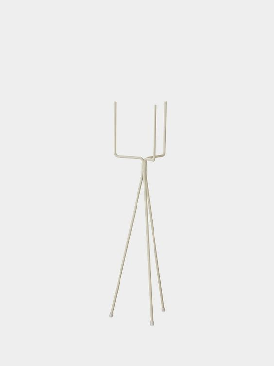 Plant Stand - Light Grey - Low 1