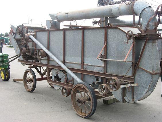 1920's John Deer Threshing Machine
