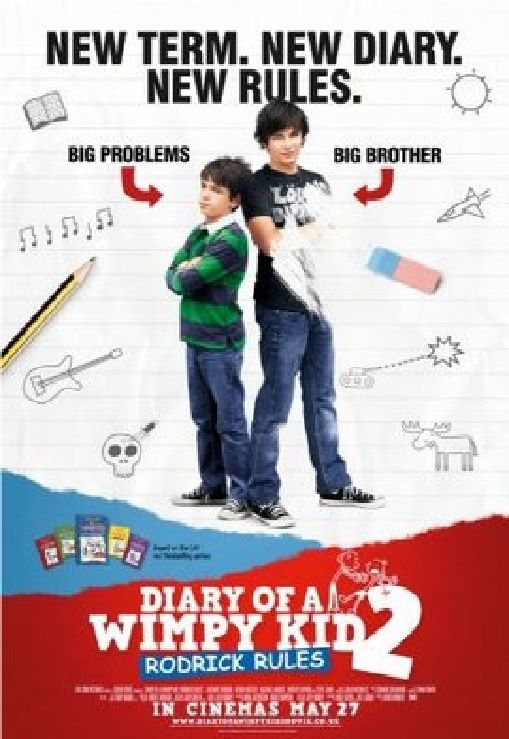 Diary Of A Wimpy Kid Rodrick Rules 2011 Imdb In 2020 Wimpy Kid Wimpy Kid Movie Full Movies Online Free
