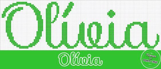Nome Olívia em Ponto Cruz