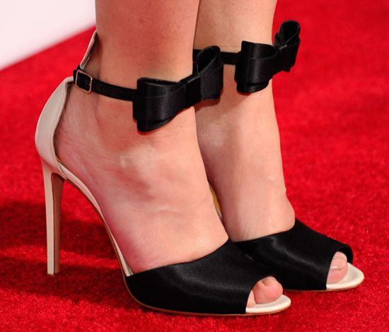 Emily Blunt in Gianvito Rossi #shoes
