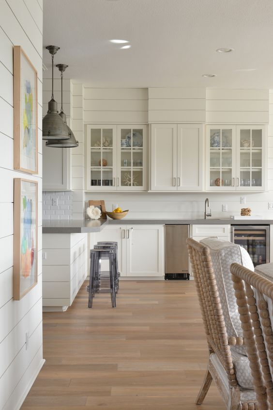 Light Amp Bright White Kitchen With Farmhouse Touches