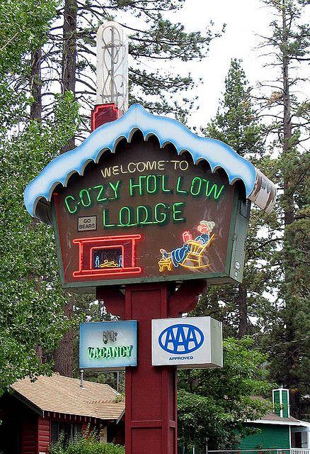 Cozy Hollow Lodge Big Bear Lake California Awww I