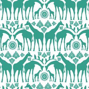 Hawthorne Threads - Zambezi - Giraffe Tribe in Jade