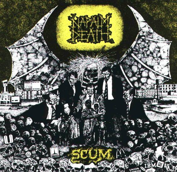 Napalm Death Scum What I M Listening To Pinterest