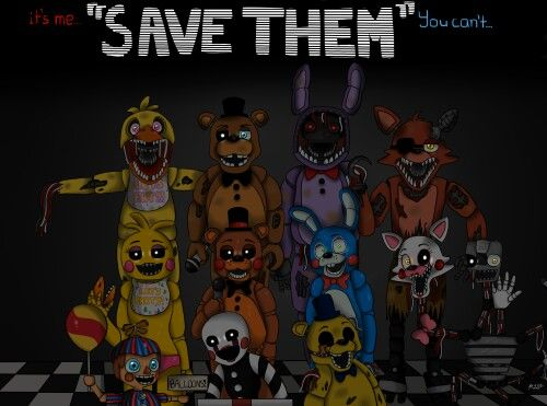 Wallpaper in my phone the best Five nights at Freddy's
