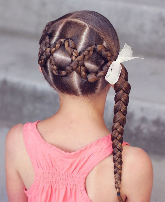 Hairstyle Braided Hairstyle Children Kids For School Little Girls Children S Hairstyles For Long Hair C Braided Hairstyles Hair Styles Kids Braided Hairstyles